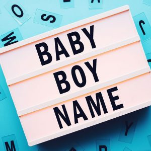 English Names For Baby Boys