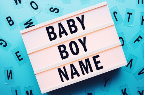 English Names For Baby Boys