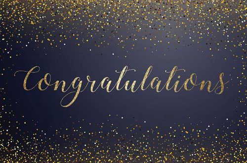 Sample Congratulatory Messages For New Appointment