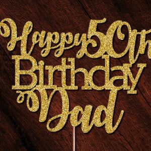 Golden Jubilee Birthday Wishes For Dad
