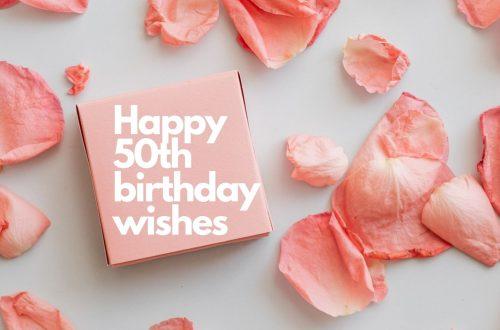 Golden Jubilee Birthday Wishes For Mum