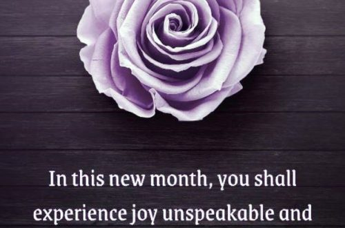 Happy New Month Messages For Family